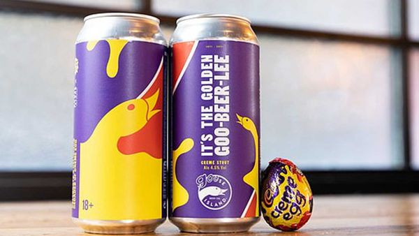 Cadbury just dropped a Creme Egg beer and everyone's freaking out