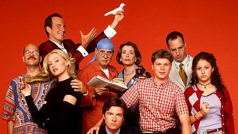 The cast of Arrested Development's first season