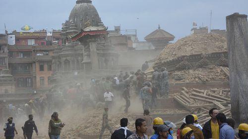 Nepal has sustained wide-spread devastation. (Supplied)
