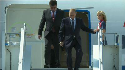 Putin touches down in Helsinki ahead of Trump summit