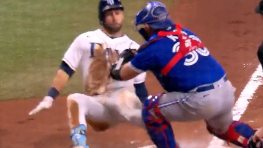 MLB star hit in apparent retribution for taking rival team's scouting card