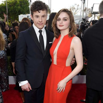 Nolan Gould and Joey King.