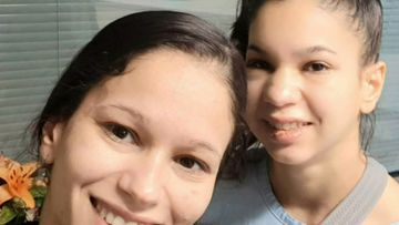 The 28-year-old's twin sister Giselle has been by her bedside since Wednesday.