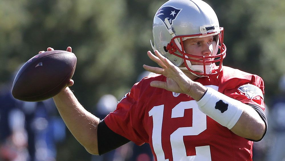 Tom Brady will return for the New England Patriots. (AAP)