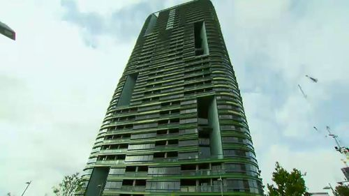 The Opal Tower's residents were evacuated from the building on Christmas Eve.