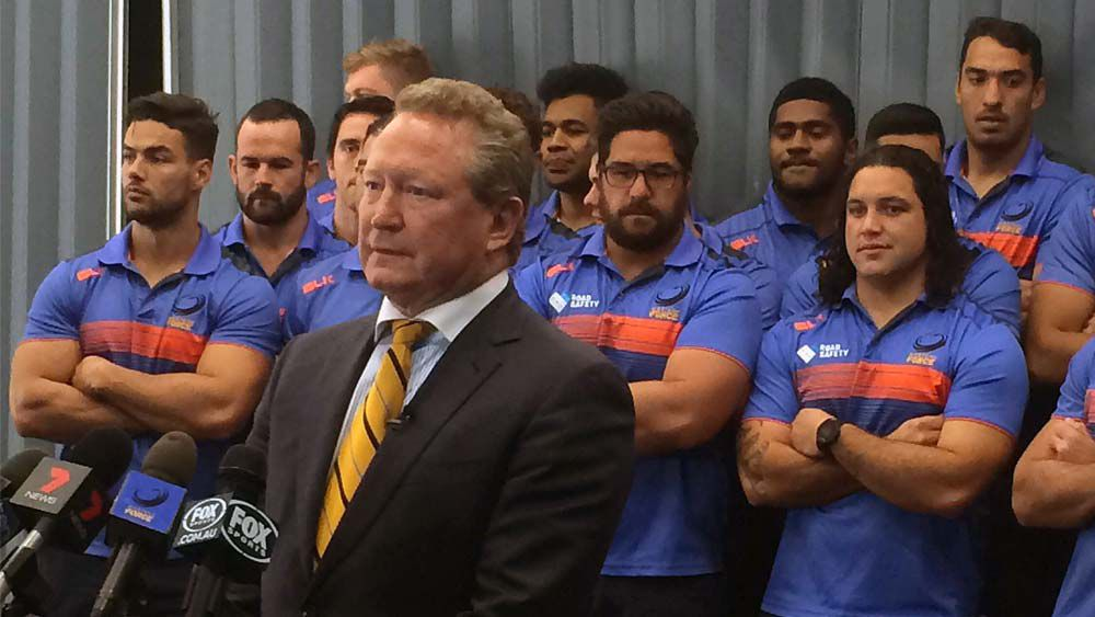 Andrew Forrest announces breakaway rugby competition, centred in Western Australia