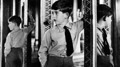 Prince Charles aged 8, 1956.