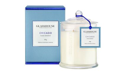 """<a href=""""http://www.sephora.com.au/products/glasshouse-fragrances-chicago-miniature-triple-scented-candle?q=Chocolate"""" target=""""_blank"""">Candle in Chicago, $34, Glasshouse Fragrances</a>"""