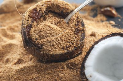 <strong>Coconut sugar</strong>
