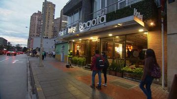 Accused drug mule Cassandra Sainsbury rarely left Colombia hotel room