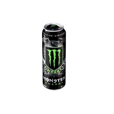 <strong>550ml Monster energy drink can (50 grams of sugar)</strong>