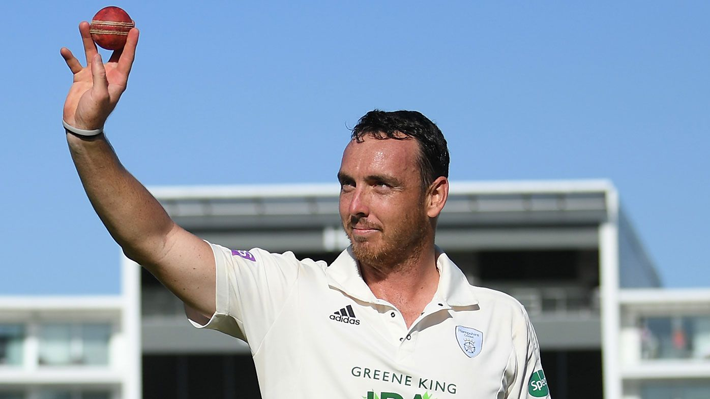 Kyle Abbott took 17 wickets for Hampshire against Somerset.