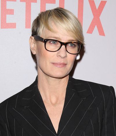 <p>No TV character in 2017 defines an on-point power haircut better than <em>House of Cards</em> '  Claire Underwood (played by Robin Wright).</p>