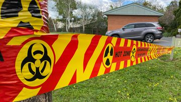 An unexploded WW2 grenade has been found at a care home in Albury, NSW