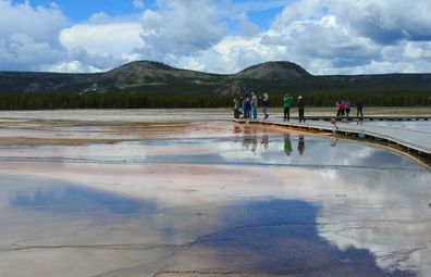 Yellowstone National Park is full of geysers