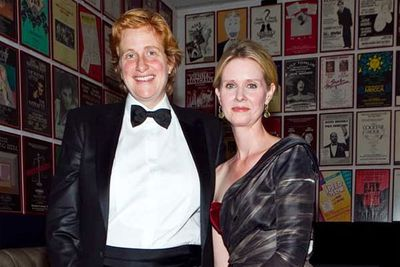 Cynthia Nixon married her long-time girlfriend, education activist Christine Marinoni, in New York in May.