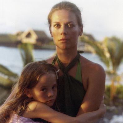 Natalie Wood with daughter Natasha Gregson