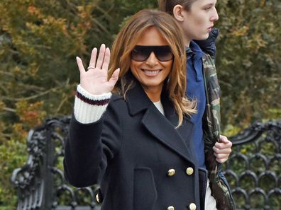 Melania Trump 'body double' theory reignited by new photos