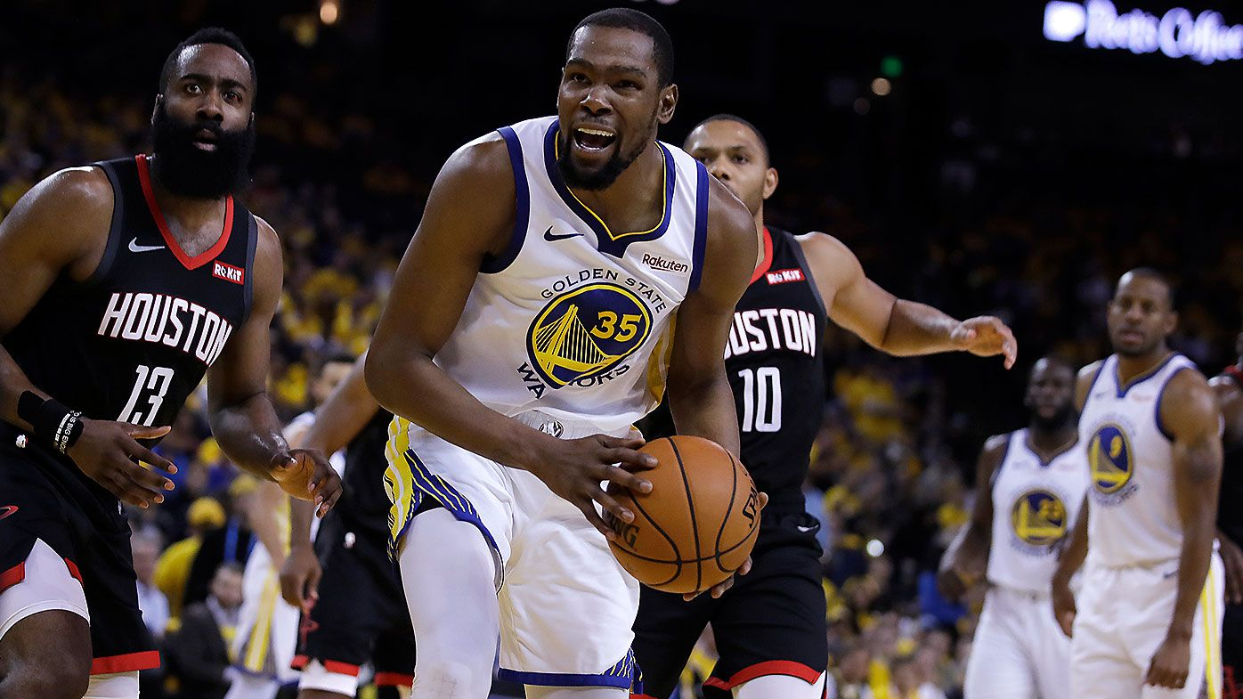 Warriors' Kevin Durant out for rest of Rockets series
