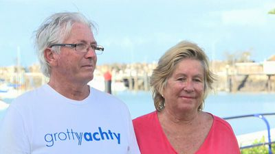'Right place at the right time': Couple recount 'fortuitous' trawler rescue