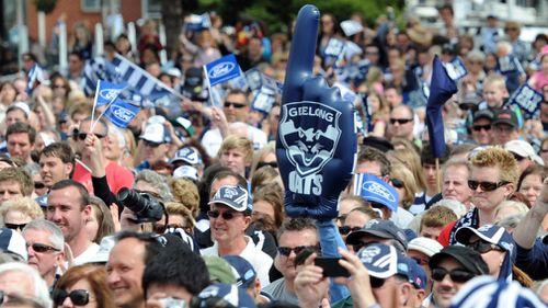 Geelong Football club is at the heart and soul of the Victorian city.