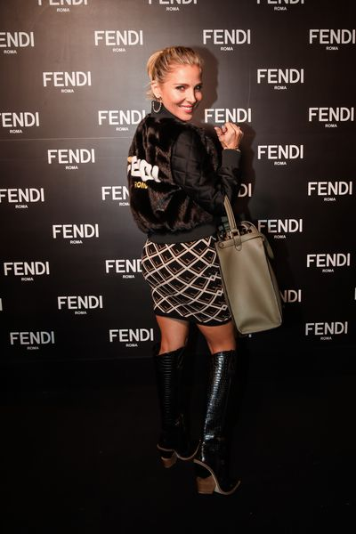 Elsa Pataky at the opening of Fendi's new boutique in Collins Street Melbourne