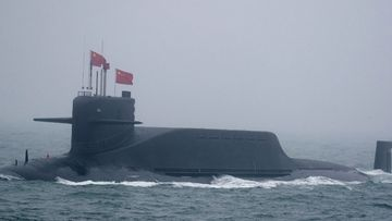 China strengthens naval base in disputed sea