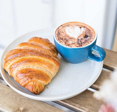 Croissants and coffee, Carin Garland
