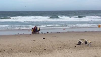 Body found in search for 14-year-old swept out to sea