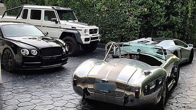 "Bilzerian has a number of flashy cars to go with his ""Flashy lunatic"" image."