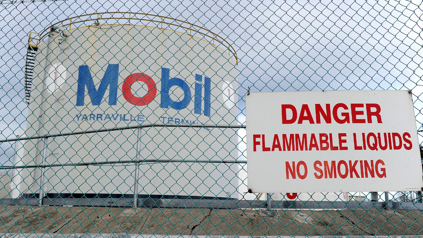Oil prices have dipped over fears of an escalating trade war between China and the US. (AP).