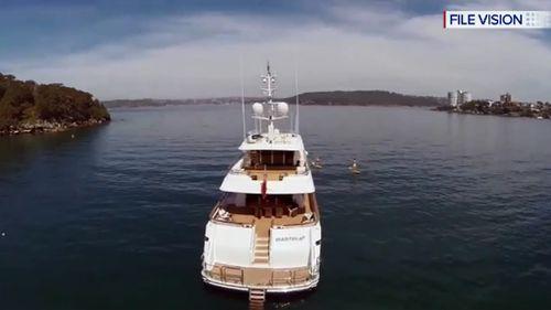 The Masteka 2 superyacht. (File image)