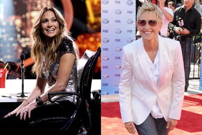 Jennifer Lopez took Ellen's seat after just a year on <i>Idol</i>. Ellen's not a singer anyway! J.Lo spent two seasons on <i>Idol</i>, pocketing an estimated $15 million per season. J.Lo and ex-hubby Marc Anthony were being considered for <i>The X Factor USA</i> in the same year she joined Idol, 2010. It was also the year J.Lo and Marc called it quits.