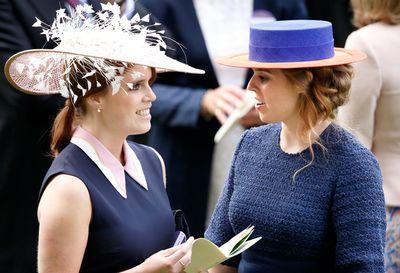 Princess Eugenie and Princess Beatrice at Royal Ascot 2016
