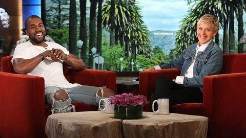 Kanye West, Ellen Degeneres