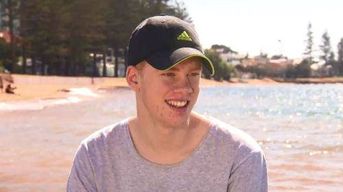Joshua says he appreciates being alive after his experience in hospital. (9NEWS)
