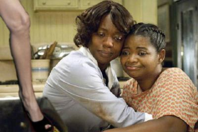 Didn't you know, Angie's leg won best supporting actress for <i>The Help</i>?