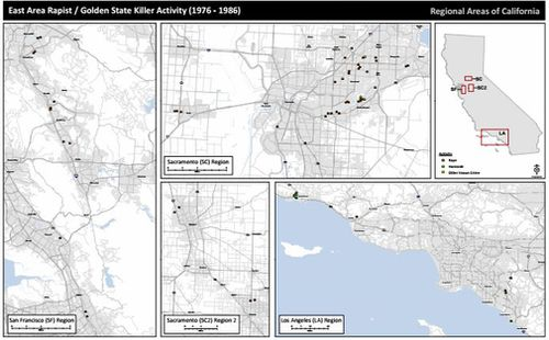 The serial rapist and killer targeted victims across California between 1976 and 1986. (AP/AAP)