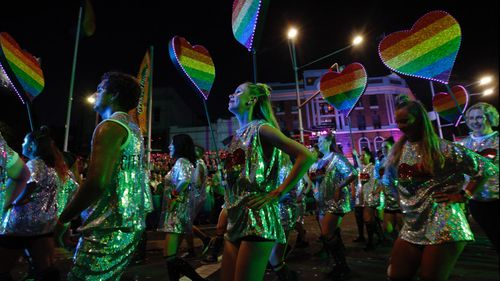 The parade and surrounding festival attracts tens of thousands of people to Sydney every year.