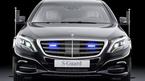 Mercedes Benz S-Guard armoured limousine (Supplied).