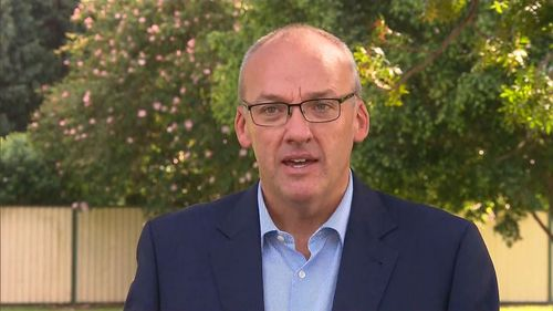 NSW Labor Leader Luke Foley said he was surprised by harassment allegations made against MP Hugh McDermott. Picture: 9NEWS.