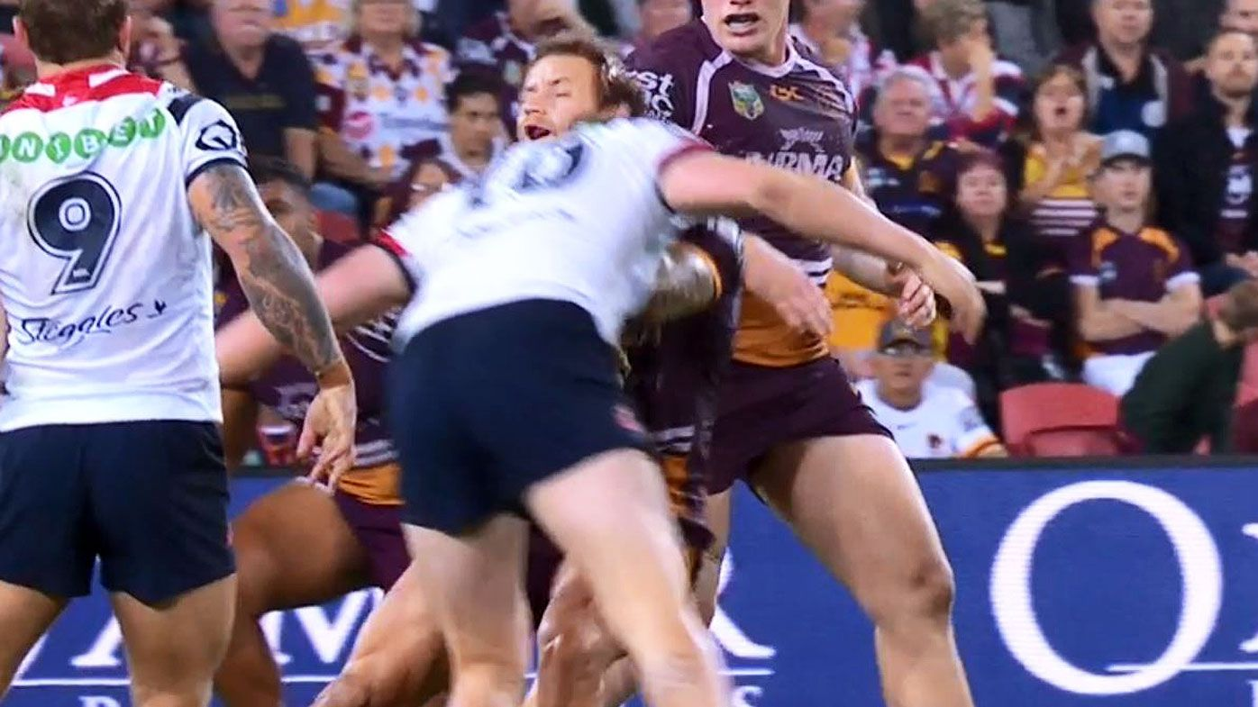 Centres star as Broncos pip Roosters