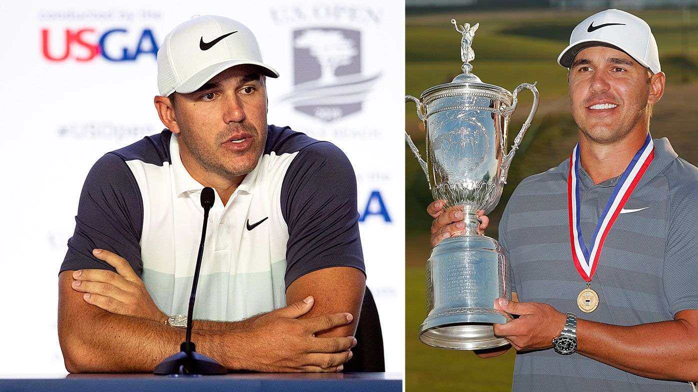 Koepka got snubbed by the host broadcaster of the US Open