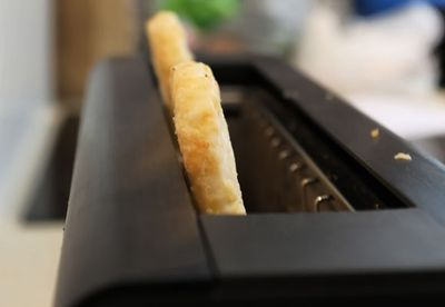 Hash browns in the toaster