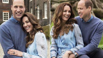 The Duke and Duchess of Cambridge's 10th wedding anniversary portraits
