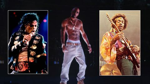 Michael Jackson, Jimi Hendrix … Who's next to rise from the dead as a musical hologram?