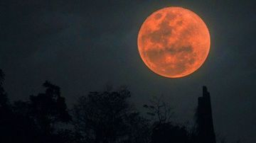 Where to see the blood moon