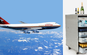 Historic memorabilia from retired Qantas 747 'Queen of the Skies' planes now for sale