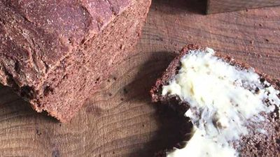<strong>Willie Harcourt-Cooze's cacao bread</strong>
