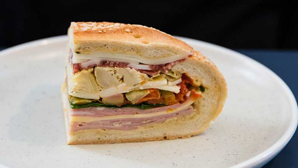 Best sandwich ever, the muffaletta - 9Kitchen